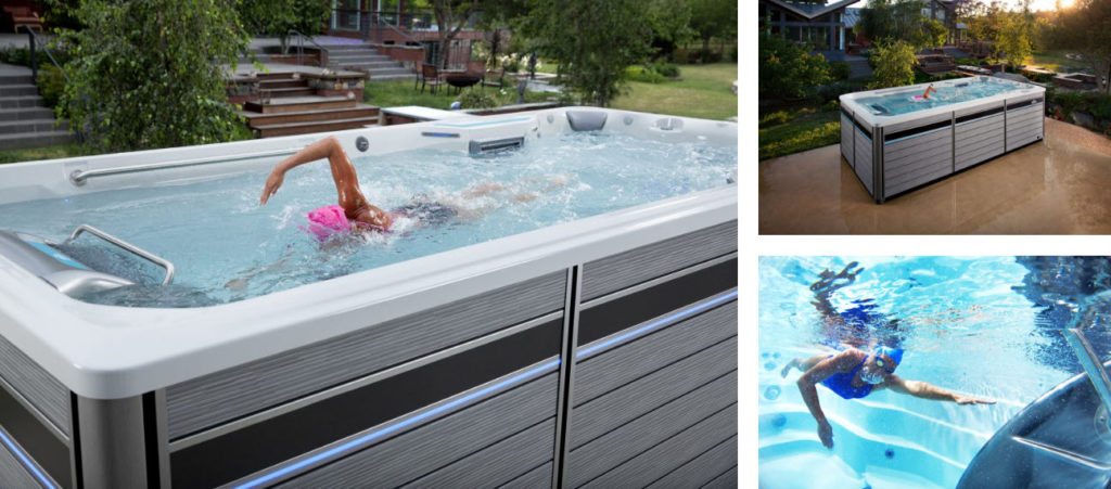 Swim spas on sale fort lauderdale pompano plantation for Exercise pool canada
