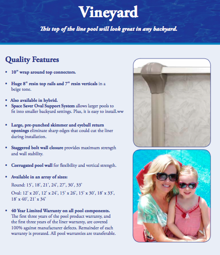 Above ground pools fort lauderdale pompano fl for Above ground pool buying guide