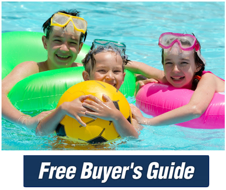 Swimming pool clearance sale rec pool and spahot tubs for Above ground pool buying guide